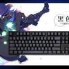 黑色重剑:阿米洛VA104M墨韵黑侧刻机械键盘