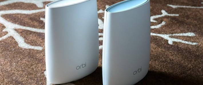 家用WiFi起革命,颜值才是硬道理!————奥秘Orbi RBK40无缝漫游详细评测