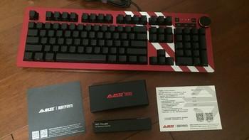 贫民RGB机械键盘好选择!AK60银轴RGB轻度使用评测!