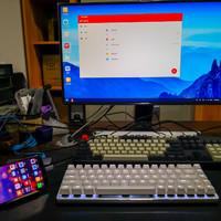 自从有了AJAZZ 黑爵 Zn 锌蓝牙双模机械键盘,手机平板也可以办公了!
