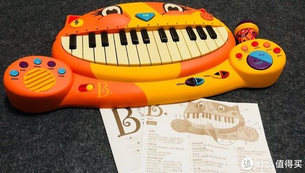 toys 比乐 大嘴猫电子琴晒单图片