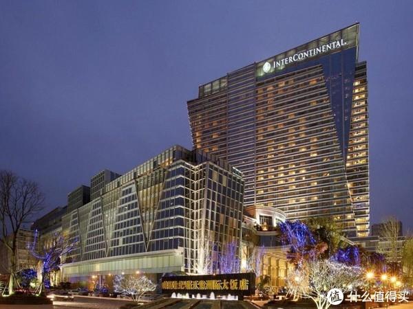 成都环球中心天堂洲际大饭店图片