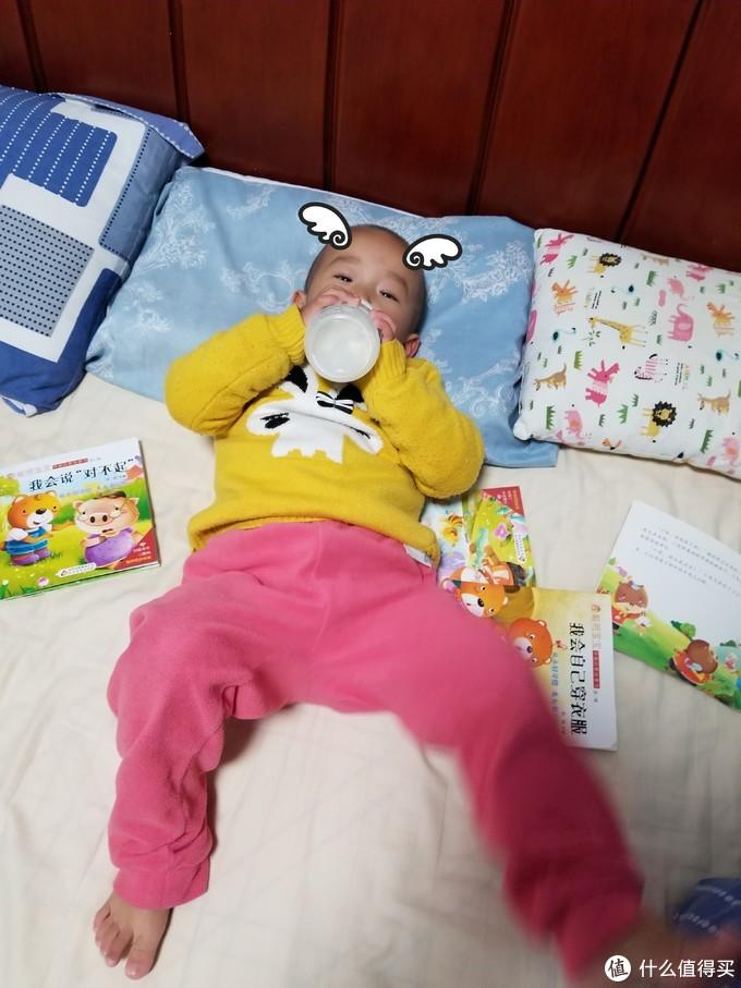 一个2岁3个月的奶瘾宝宝对NUK奶瓶套装初体验