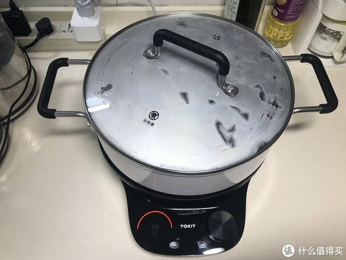 是时候淘汰传统电磁炉了:TOKIT 智能热敏炉 青春版 + 知吾煮汤锅 套装