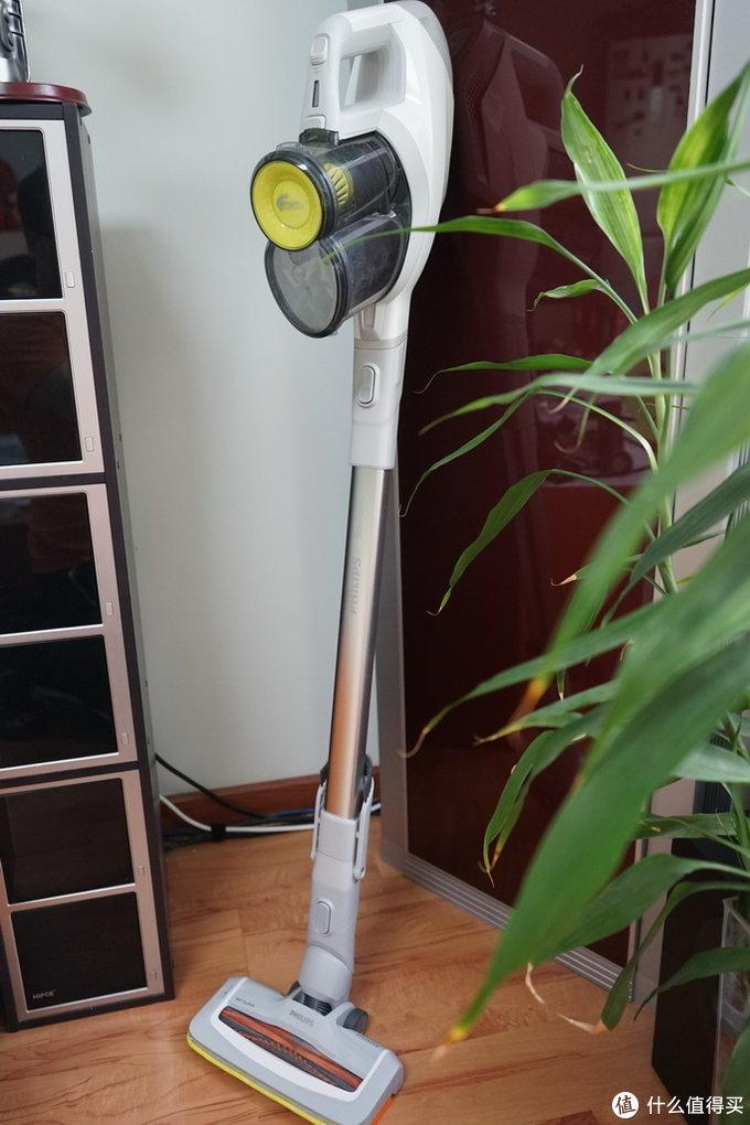老牌劲旅的反击,清洁的利器:飞利浦 SpeedPro FC6722 气旋无绳手持吸尘器