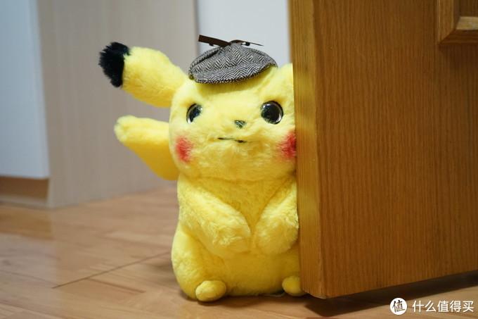 """""""皮卡,皮卡——丘"""",这只可爱的电老鼠:《大侦探皮卡丘》正版授权毛绒公仔"""