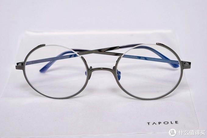 女孩子最好的配饰!颜值提升神器!TAPOLE四分之三眼镜众测报告