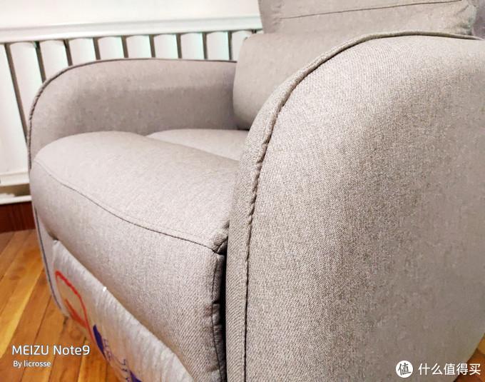 头等舱的布艺沙发——芝华仕 布艺功能沙发窝椅 测评