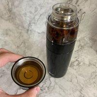 让旅途中喝茶更精致:恒福 随身泡 茶水分离泡茶杯使用体验