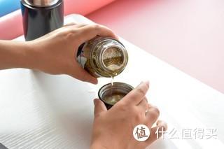 茶香还是要慢慢品,恒福 随身泡茶水分离泡茶杯轻体验