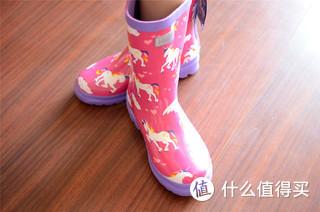 佩奇我们走,一起去踩泥坑-Hatley A13-RB0DINO100 儿童雨鞋体验