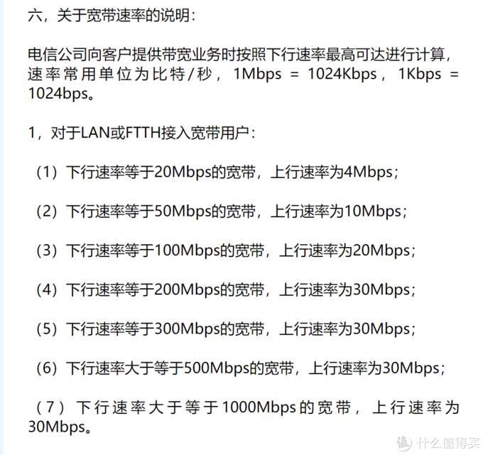 这是我所在地区电信的宽带速率,没错你没有看错1000M的宽带,上行才30M
