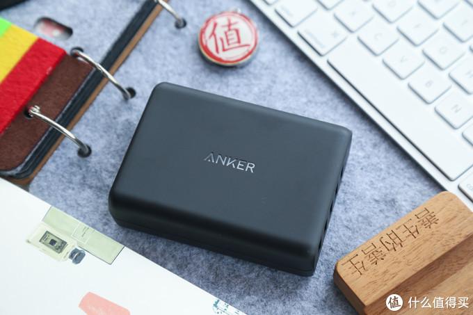 #本站首晒#五个设备,一次满足-Anker QC3.0 63W 多口充电器