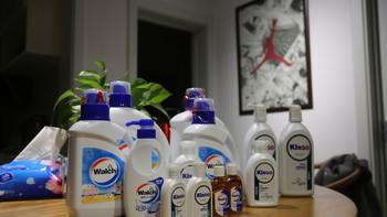 威露士 洗衣液开箱总结(瓶子|护发素|洗发水|清洗剂|优点)