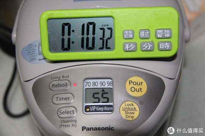#超级值友专享# 物有所值——Panasonic 松下 NC-BG3000电热水壶 开箱记