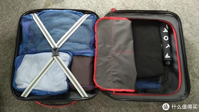 行李打包图
