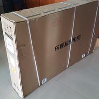 乐视X55智能电视开箱介绍(边框|包装)
