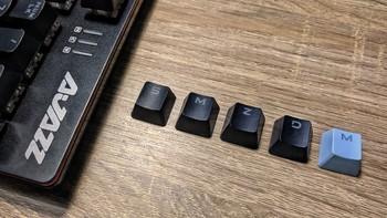 AJAZZ 黑爵 机械战警 合金机械键盘(黑色红轴) 评测报告