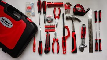 来!DIY个花架试试---WORKPOR 万克宝 高级家用工具50件套评测