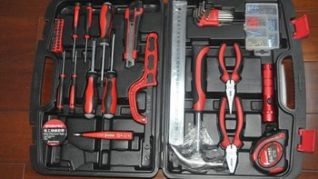 【众测】WORKPOR 万克宝 高级家用工具50件套