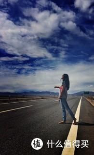 拍摄于西宁某高速公路,修图软件snapspeed