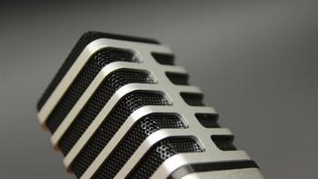 精巧、漂亮的银色小麦克风——TLIFE T1 手机电脑麦克风 开箱评测