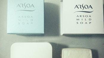 ARSOA 安露莎 日本手工皂洁面皂 小白皂众测报告