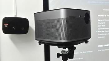 #众测#替代传统投影的时刻终于来临 - 极米H1S无屏电视,LED光源投影机