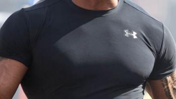 小身板也能穿?——UNDER ARMOUR THREADBORNE系列 男士训练T恤众测报告
