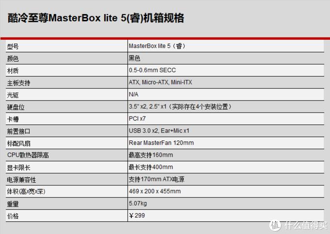 颜值高,肚量大,主子陪我来装机---酷妈中塔MasterBox Lite 5试用报告