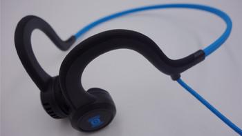 运动无极限 夜跑好伴侣:AfterShokz 韶音 Breez骨传导蓝牙耳机