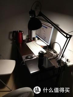 IKEA 宜家 特提亚 工作灯 和 Cherry 白茶