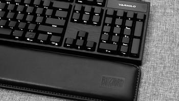 一黑到底,阿米洛VA104M炭黑侧透机械键盘众测体验