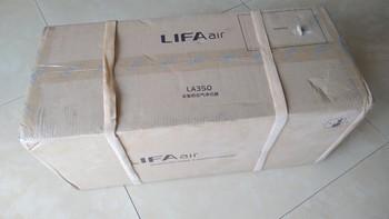 LIFAair LA350 空气净化器怎么样评测(按键)