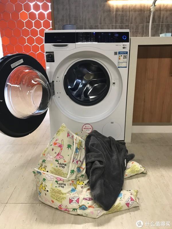 洗衣服那点事 篇八:#体验家计划#SIEMENS 西门子 洗衣机 WM14U561HW