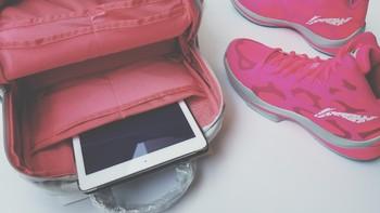 粉红的少女心——ELECOM 宜丽客 双肩旅行摄影包
