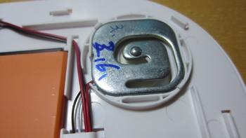 斐讯S7体脂称内部拆解(玻璃钢面板 感应器 材质 脚垫 电池)