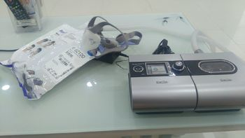 瑞思迈 全自动S9呼吸机外观展示(主机|面罩|电源|材质|湿化器)