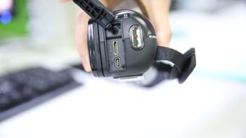 欧达 Z20 摄像机使用感受(充电|光照面积|成像|效果|分享)