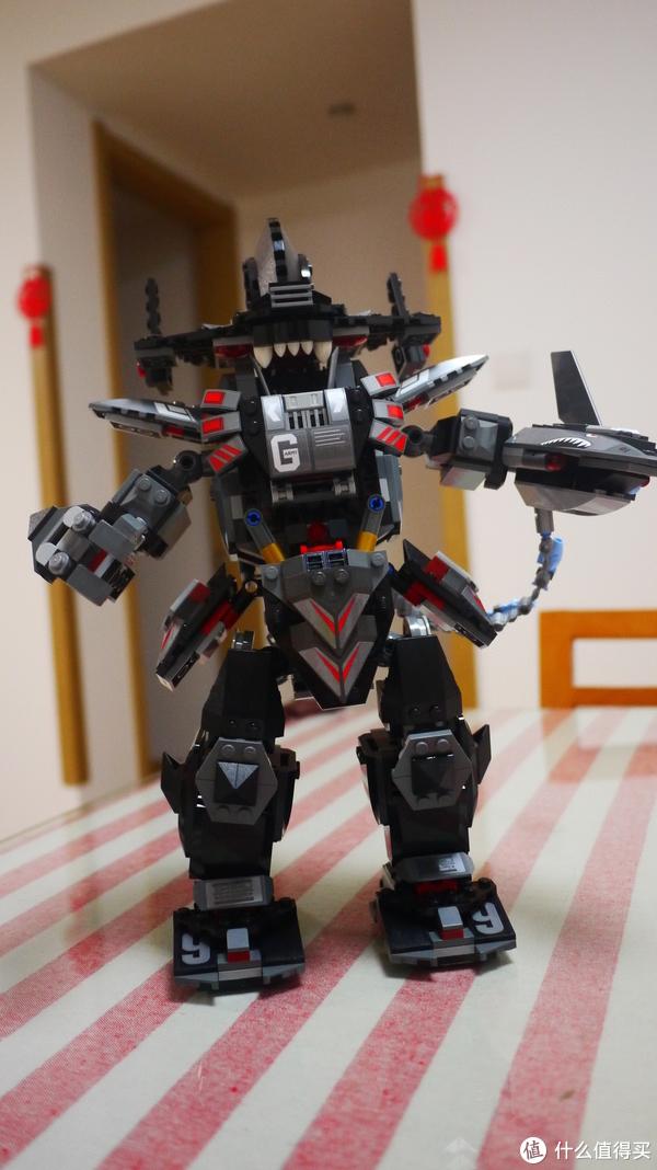 暗黑霸王机甲:LEGO 乐高 70613 开箱