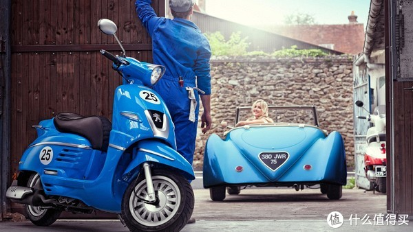 颜值即正义!Peugeot 标致 Django 姜戈 150 摩托车用车小记
