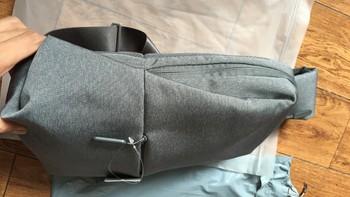 小米 胸包容量测试(做工|内部设计)