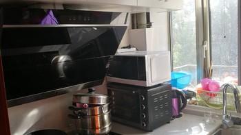 一个仅3平米的迷你厨房的自白-美的CXW-260-DJ588R油烟机和JZT-Q590B燃气灶使用评测