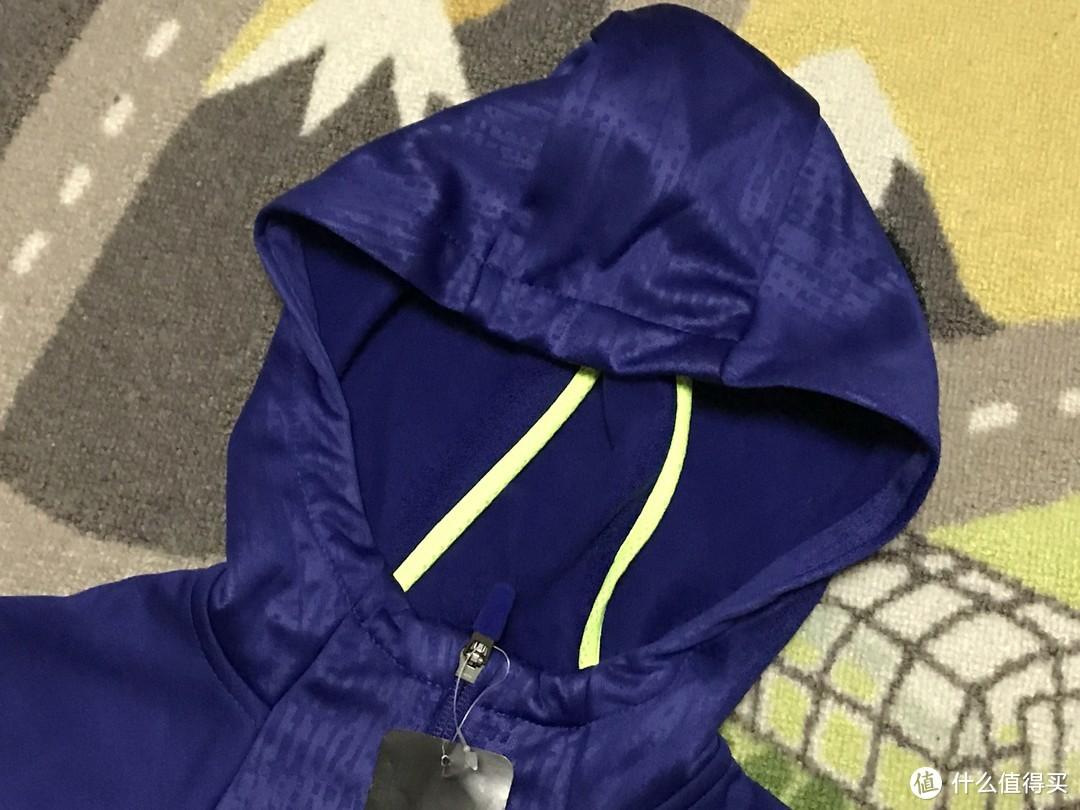 NIKE 耐克 THERMA-FIT 男童加绒保暖连帽外套