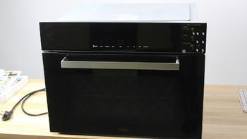 方太 KQD43F-E2T 电烤箱外观展示(操作板|烤箱门|橡胶圈|烤盘|风扇)