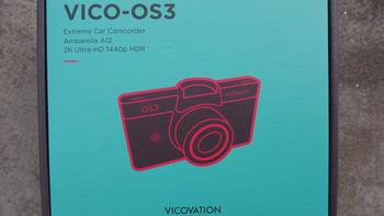视连科 OS3 行车记录仪外观展示(接口 指示灯 偏光镜)