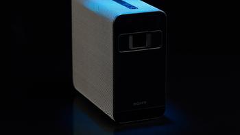 索尼 Xperia Touch 智能便携投影仪外观展示(摄像头 功能键 接口)