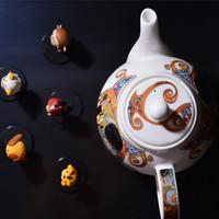 丹侬 峡谷型 骨瓷杯产品细节(顶盖|花纹|胎体|价格)