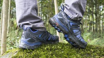 Salomon 萨洛蒙女款户外防水透气徒步鞋 X ULTRA 3 GTX W 高科技的徒步鞋 稳健掌控 急速下山
