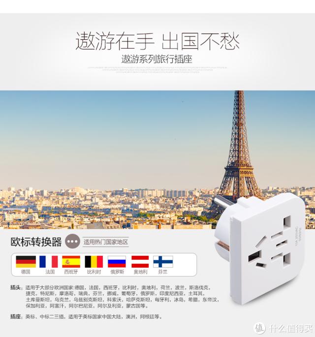一插在手,走遍全球 施耐德电气 遨游 全球通用旅行转换器 试用报告